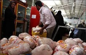 ادامه روند افزایشی نرخ مرغ در بازار