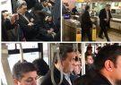 شهردار تهران با BRT و مترو رهسپار بهشت شد