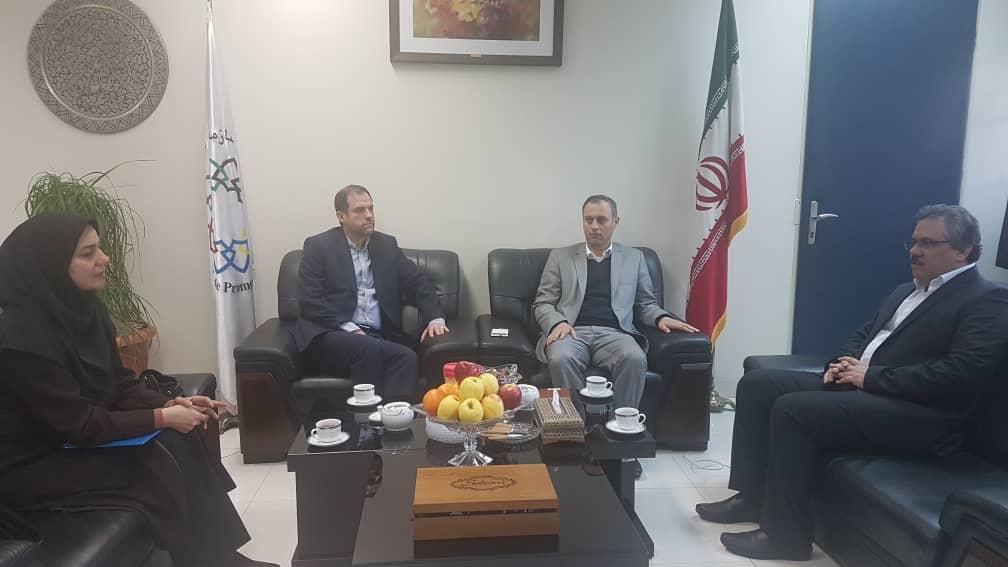 توسعه همکاری بین سازمان توسعه تجارت و شرکت شرکت شهرکهای صنعتی تهران