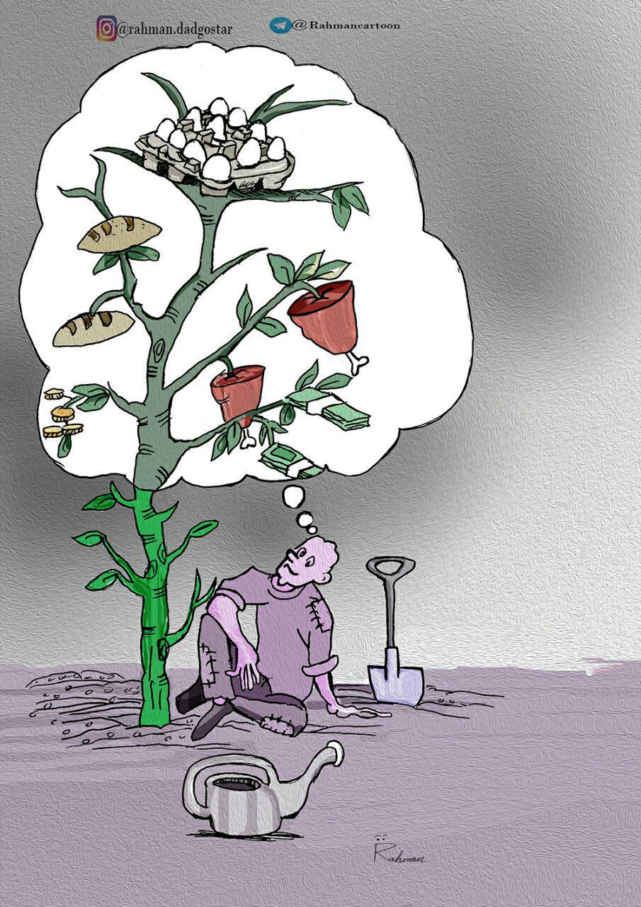 کارتون/ روز درختکاری
