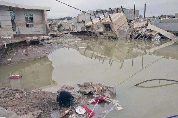 روستاییان سیل زده «چم رستمیان» پلدختر هیچ کمکی نگرفته اند