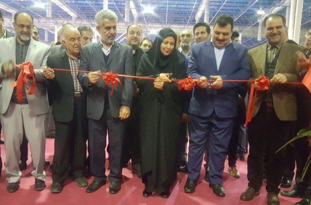 افتتاح نمایشگاه بین المللی صنعت نساجی و پوشاک با حضور مدیرکل صنایع نساجی وزارت صمت