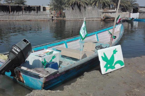 راه اندازی اولین کتابخانه سیار شناور در خوزستان