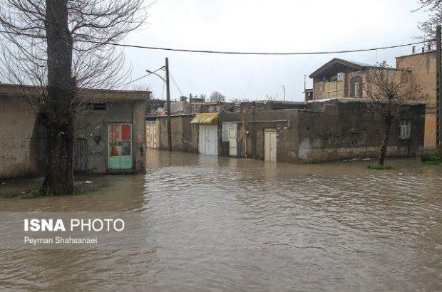 سیلاب در استان لرستان