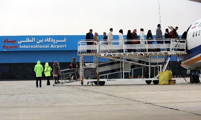 برقراری خط پروازی کرج ـ جزیره کیش از فرودگاه پیام