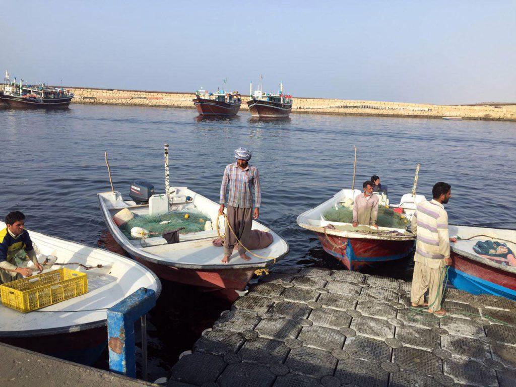 بندر صیادی زرآباد کنارک به بندر تجاری تبدیل میشود