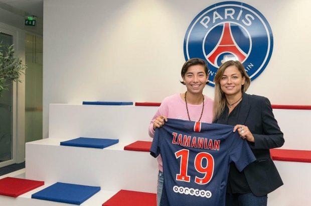 دختر ایرانی، ستاره یوونتوس و فرانسه میشود!