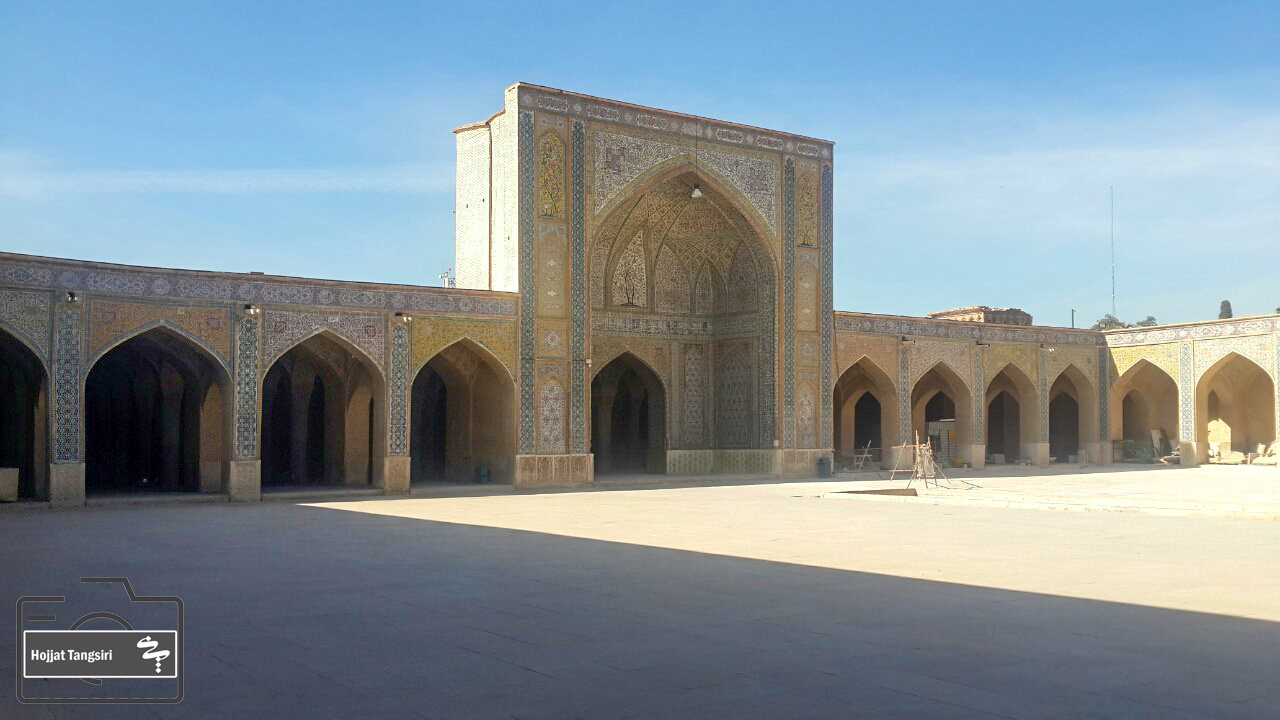 گزارش تصویری از بناهای تاریخی شیراز در خرداد ماه ۹۹